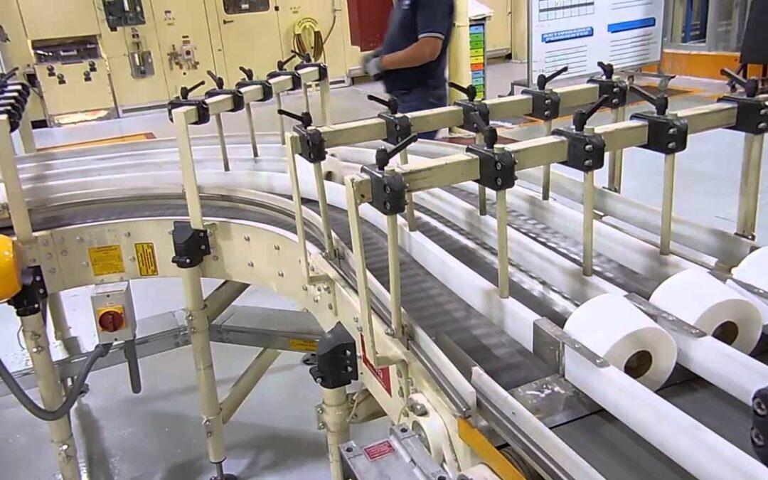 Como funcionam as máquinas de corte de papel higiênico?